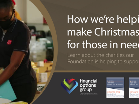 Christmas 2020: Working with charities to make the holidays brighter for those in need