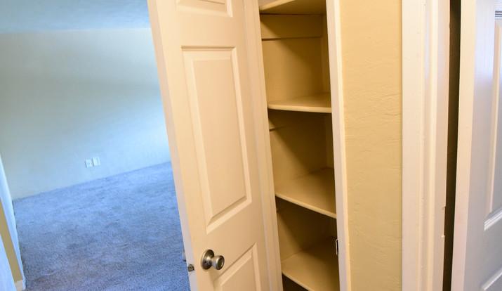 Extra storage spaces