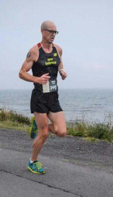 Noel Paine Running Dad