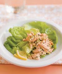 Lemon Mustard Salmon Salad