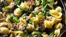 Orecchiette with Sausage & Broccoli Rabe