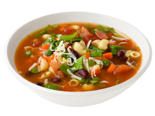 On Amy's Table: Ellie Krieger's Minestrone Soup from Small Changes, Big Results