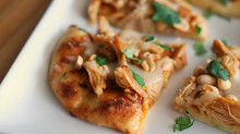 Food, fast:  Asian Chicken Flatbread