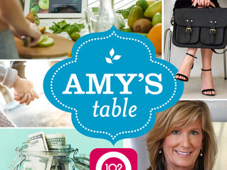 Stirring the pot (of soup!) on Amy's Table Today