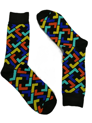 Geometric socks