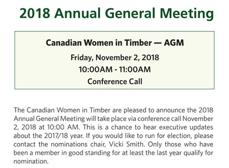 CWIT 29th Annual General Meeting Announcement