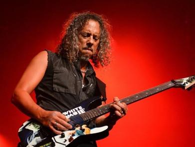 Desvendando a guitarra de Kirk Hammet
