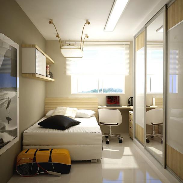 10 Ideias de quartos pequenos para você se inspirar