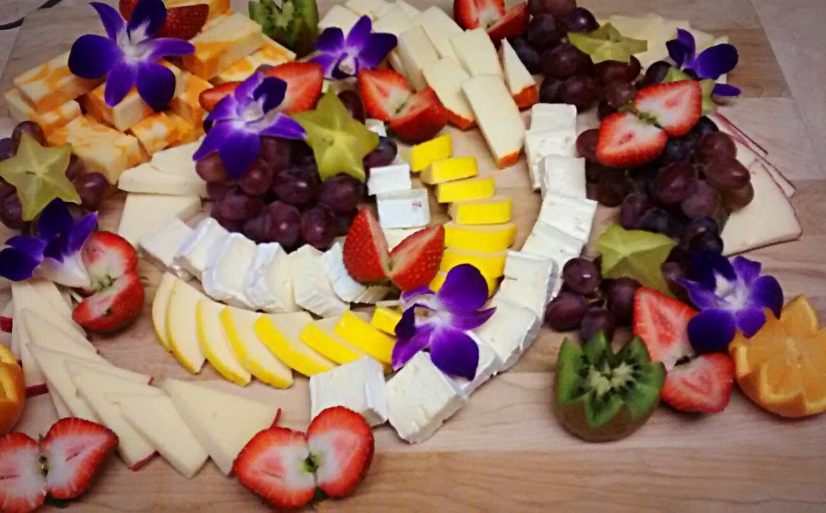 Plateau de fromages fins