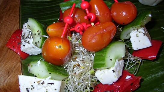 Brochette légumes grillés
