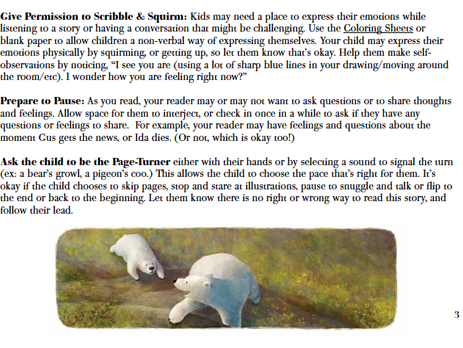 Permission to Scribble & Squirm (An Ida, Always Activity Guide Sneak Peek)