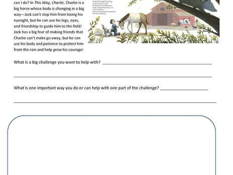 Friends Help: This Way, Charlie Activity Sheets