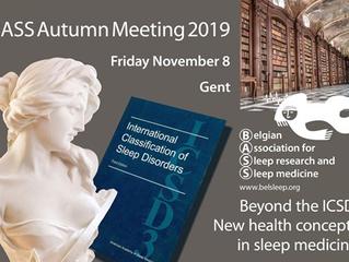 Bientôt - BASS Autumn Meeting - November 8, 2019 - Gent - BELGIUM