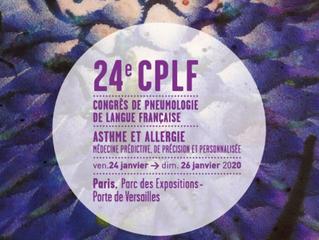 24e CPLF - Congrès de Pneumologie - PARIS - 24 au 26 janvier 2020