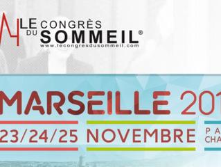 BIENTÔT : Congrès du Sommeil - 23-25 novembre 2017 - Marseille