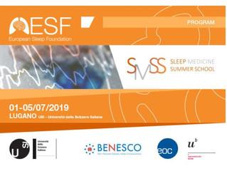 Bientôt - SLEEP MEDECINE summer school - du 1er au 5 juillet 2019 - Lugano - SUISSE