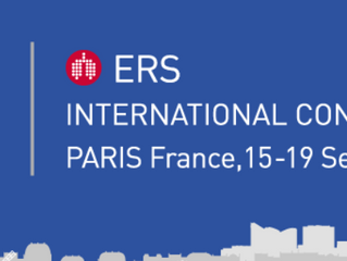 ERS International CONGRESS - Paris - du 15 au 19 septembre 2018