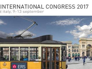CONGRES : bientôt le 27e congrès international ERS à MILAN du 9 au 13 septembre