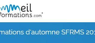 Formations d'automne SFRMS 2019 - 20 novembre 2019 - Lille
