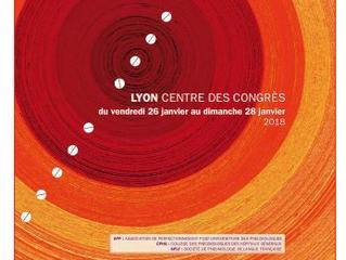 BIENTOT : 22e Congrès de Pneumologie - Lyon - du 26 au 28 janvier 2018