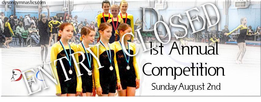 Dyson Gymnastics Club first Annual Club Competition