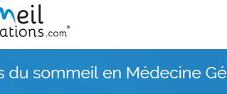 Formation : Troubles du sommeil en médecine générale - 10 avril 2020 - Lille