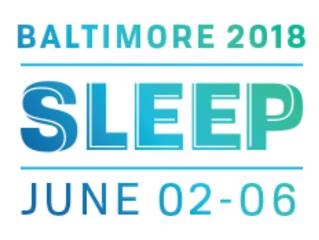 BIENTÔT - 32e meeting SLEEP - du 2 au 6 juin 2018 - Baltimore