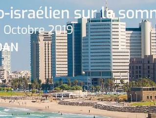 4e Congrès franco-israélien du sommeil - Tel Aviv - 27-31 octobre 2019