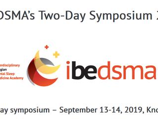 Bientôt - iBEDSMA'S Symposium - 13-14 septembre 2019 - Knokke