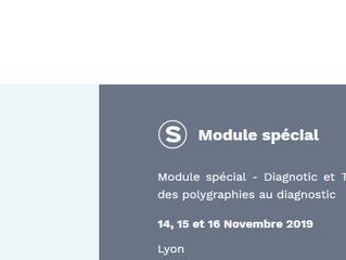 Formation : diagnostic et traitement de l'interprétation des PG au diagnostic - 14, 15 et 16.11.