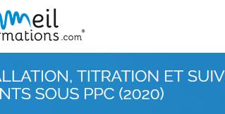 Formation : installation, titration et suivi des patients sous PPC - 27 mars 2020 - Grenoble