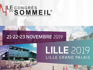 CONGRES du sommeil SFRMS - Lille - 21, 22 et 23 novembre 2019