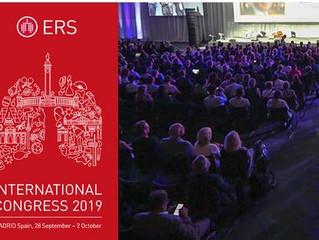 Bientôt - ERS International Congress 2019 - 28 sept au 2 oct - Madrid - Espagne