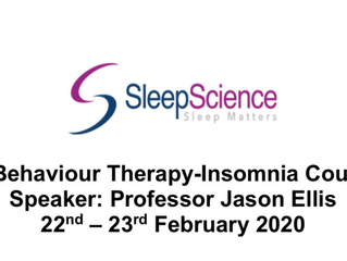 Formation : Sleep Medicine Course - from 9th to 13th March 2020 - Edinburgh