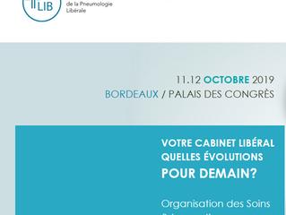 Les Assises de la Pneumologie Libérale - Bordeaux - les 11 et 12.10.2019