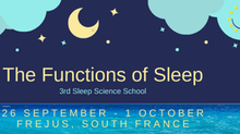 3rd ESRS Sleep Science School - FREJUS - 26 sept - 1st october 2021