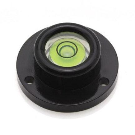 AVF30G – Plastic circular level, Ø30mm, green li