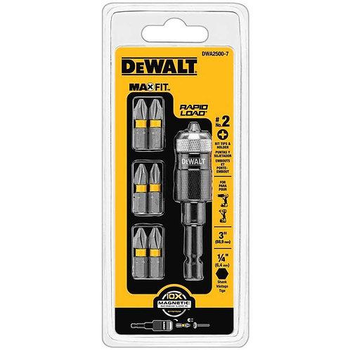 ALONGADOR DEWALT COM BITS MAX FIT MOD.: DWA2500-7