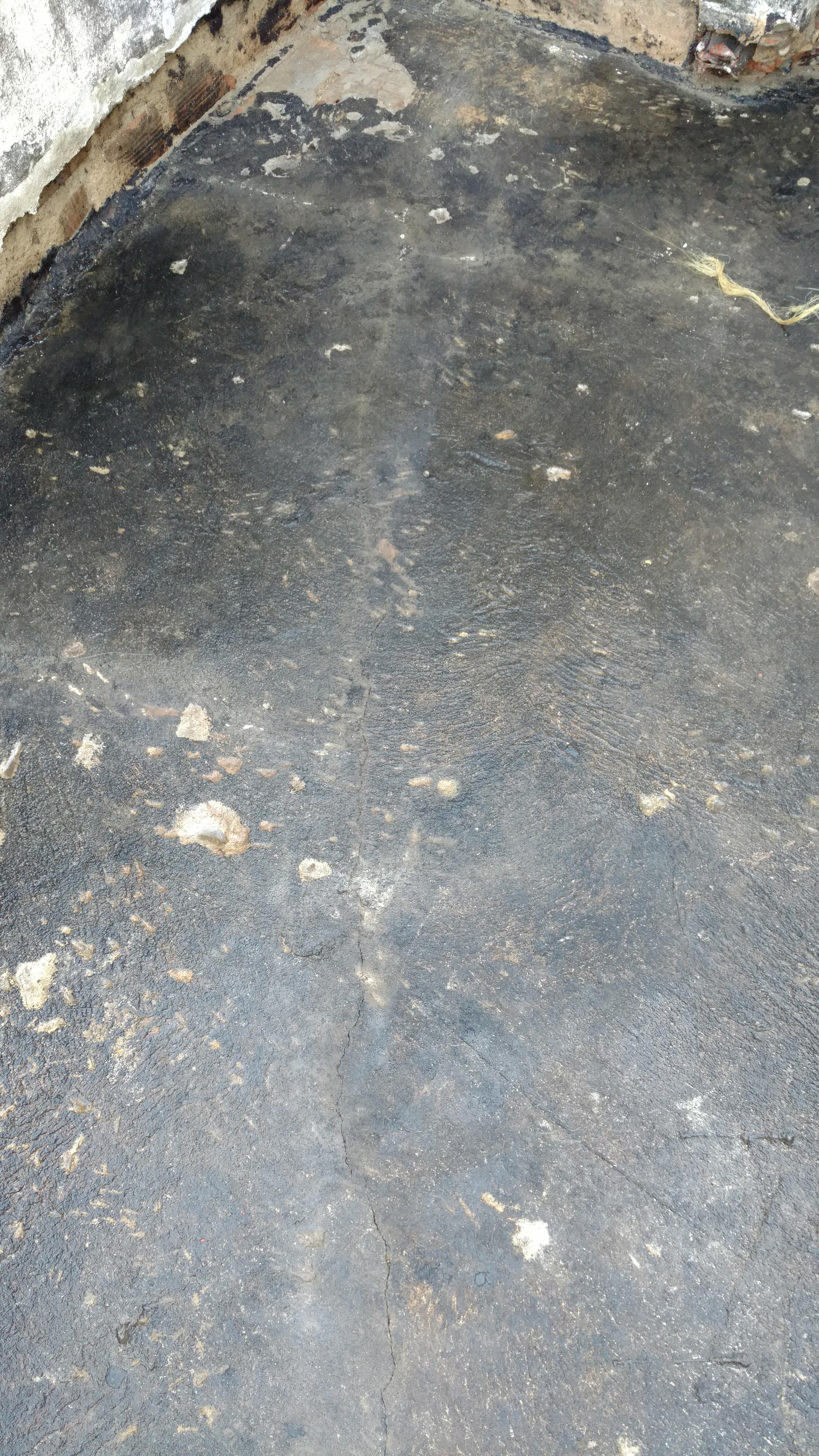 Demolição de piso