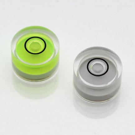 AV10G – Plastic circular vial, Ø10.3×6.0mm, Green, 60'/2mm