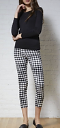Avenue Montaigne Gingham Pant.png