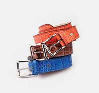 Zambezi Grace Crocodile Leather Belt Ass