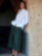Rosso 35 White Tunic and Green Skirt.png