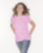 Majestic Filatures Striped Pink Tee.png