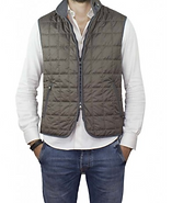 Waterville Theo Nylon Vest Taupe.png