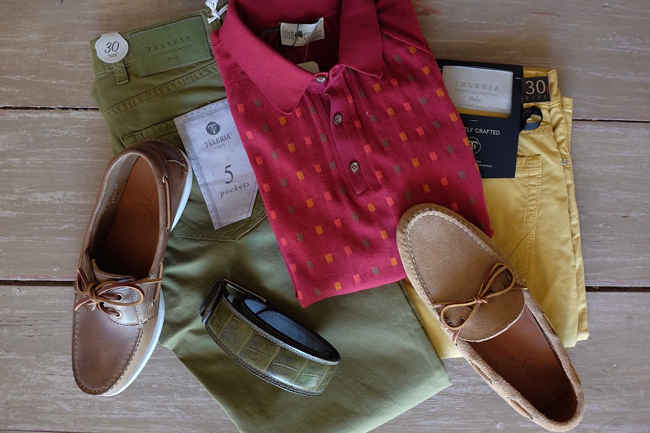 Teleria Pants, Irisg Crone Shirt, Rancou