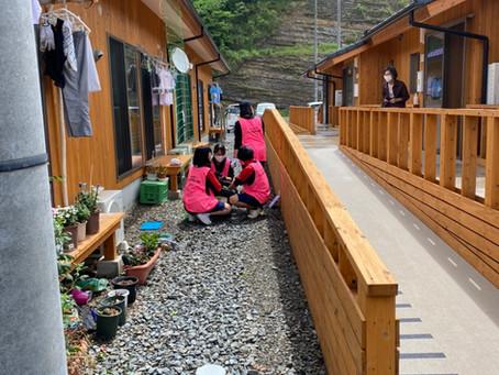 5月度例会「地域とつながる~仮設住宅×緑のカーテンプロジェクトin人吉球磨~」を開催いたしました!