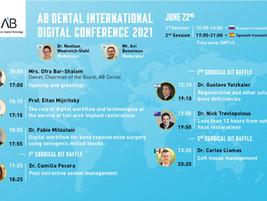 AB Dental - приглашение на конференцию 22 июня 2021
