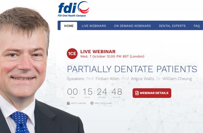 Вебінари Всесвітньої федерації стоматологів