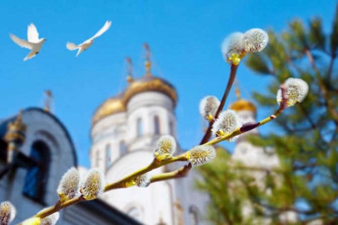 Вітаємо з прийдешнім святом - Вербною Неділею!